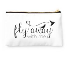 Fly away with me Studio Pouch