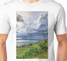 Rain Approaching Lake Constance, Germany Unisex T-Shirt