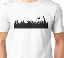 Sport supporters silhouettes Unisex T-Shirt