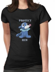 Protect Him Womens Fitted T-Shirt