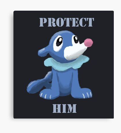 Protect Him Canvas Print