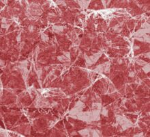 Red Marble texture Sticker