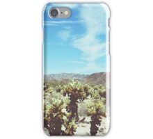 Cholla Forest iPhone Case/Skin