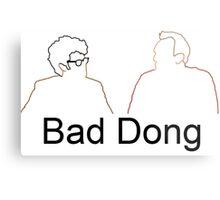 Bad Dong - Big Fat Quiz Metal Print