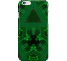 Geometric Green iPhone Case/Skin