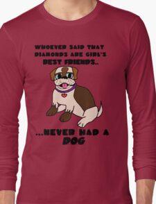 DOGS - BEST FRIENDS Long Sleeve T-Shirt
