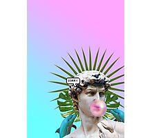 Vaporwave Seapunk Cool Style 3D Photographic Print