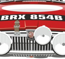 1964 work MG MGB Sticker
