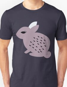 Rabbits and flowers 006 Unisex T-Shirt