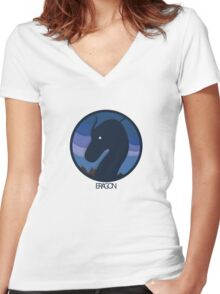 Eragon Women's Fitted V-Neck T-Shirt