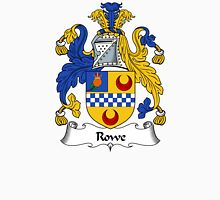 Rowe Coat of Arms / Rowe Family Crest Unisex T-Shirt