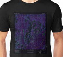 USGS TOPO Map Alabama AL Pollard 304875 1960 24000 Inverted Unisex T-Shirt