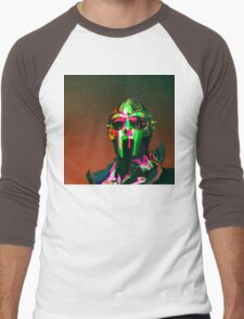 MF DOOM Vector art Men's Baseball ¾ T-Shirt