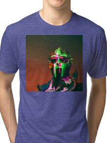 MF DOOM Vector art Tri-blend T-Shirt