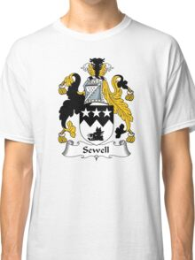 Sewell Coat of Arms / Sewell Family Crest Classic T-Shirt