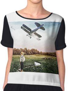 Aviators Chiffon Top