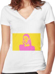 Lemonade Women's Fitted V-Neck T-Shirt