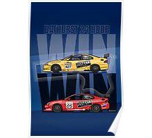 Win Win! – Holden Monaro CV8 427C Bathurst 24 Hours Winners 2002/2003 Poster