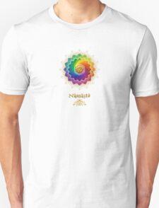 Rainbow Lotus Om Namasté Unisex T-Shirt