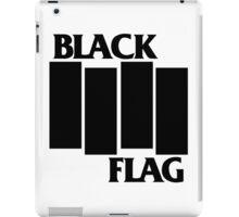 black flag logo iPad Case/Skin
