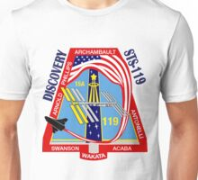 STS-119 Discovery Mission Logo Unisex T-Shirt