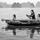 Rowing in Halong Bay by Patricia Jacobs DPAGB LRPS BPE4