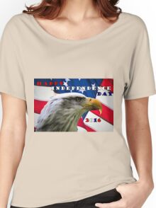 Happy Independence Day Women's Relaxed Fit T-Shirt