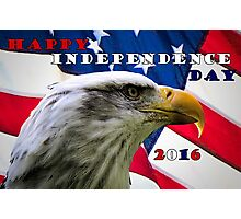 Happy Independence Day Photographic Print