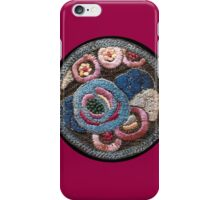 Vintage Embroidery Patch  iPhone Case/Skin
