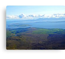 Isle of Arran, Bute, Cumbrae  Canvas Print