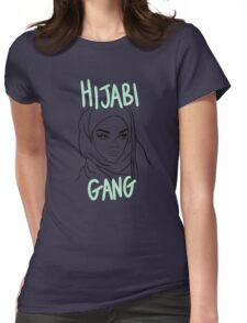 COOL HIJABI GANG Womens Fitted T-Shirt