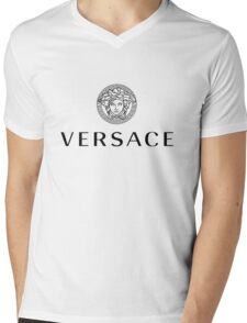 The Versace Collection Mens V-Neck T-Shirt