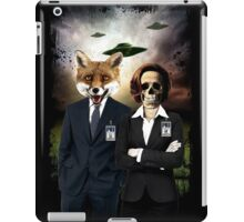 Fox and Skully iPad Case/Skin