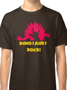Dinosaurs Rock Classic T-Shirt