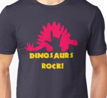 Dinosaurs Rock Unisex T-Shirt