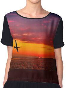Fly to paradise  Chiffon Top