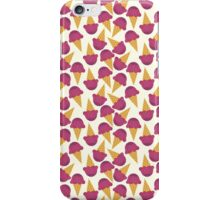 Pink Icecream Pattern iPhone Case/Skin