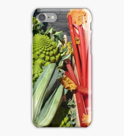 COLOURFUL VEGETABLES iPhone Case/Skin
