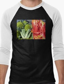 COLOURFUL VEGETABLES Men's Baseball ¾ T-Shirt