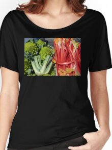 COLOURFUL VEGETABLES Women's Relaxed Fit T-Shirt