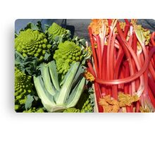 COLOURFUL VEGETABLES Canvas Print