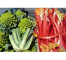 COLOURFUL VEGETABLES Photographic Print