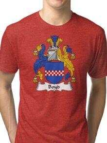 Boyd Coat of Arms / Boyd Family Crest Tri-blend T-Shirt