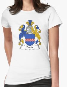 Boyd Coat of Arms / Boyd Family Crest Womens Fitted T-Shirt