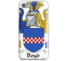Boyd Coat of Arms / Boyd Family Crest iPhone Case/Skin