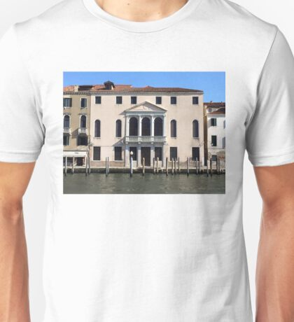 Hotel on Venice Canal Unisex T-Shirt