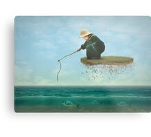 A Dream Catch Metal Print