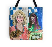 Marilyn and Bella Tote Bag