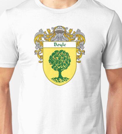 Boyle Coat of Arms/Family Crest Unisex T-Shirt