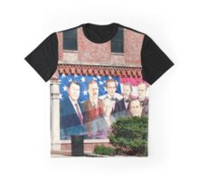 Presidential Mural/ Sterling, IL (usa) Graphic T-Shirt